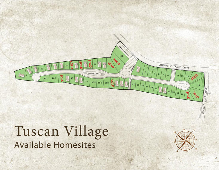 Available Homesites