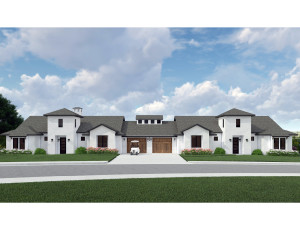Villa rendering for website