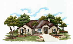 1008 Pinnacle View Front RenderingFRONT